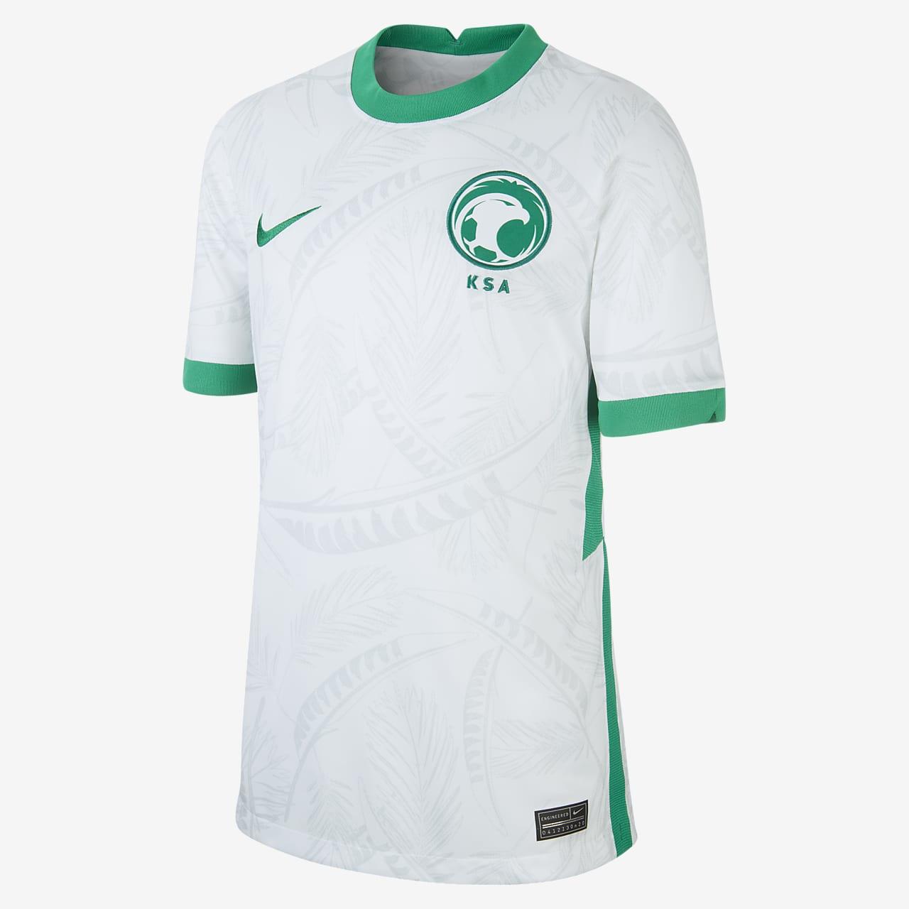 Saudi Arabia 2020 Stadium Home Older Kids' Football Shirt
