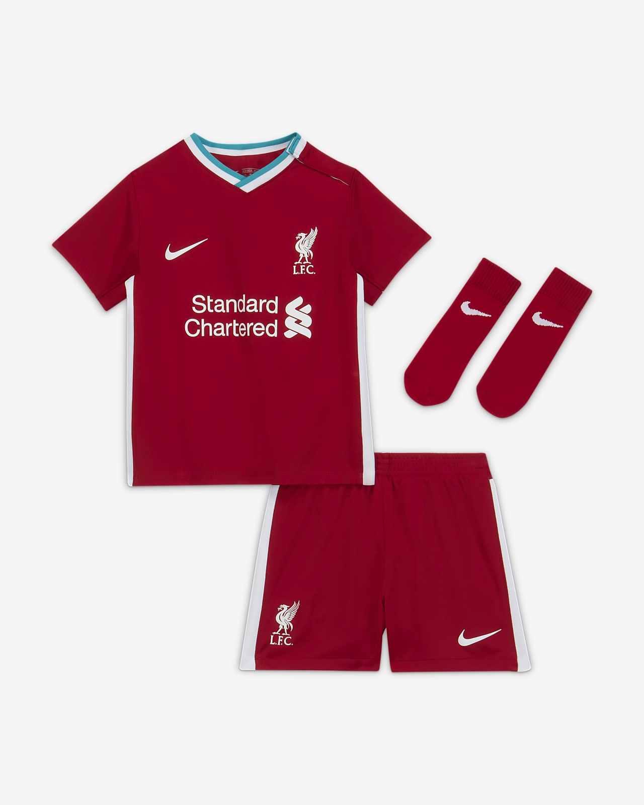 Liverpool FC 2020/21 Home Baby and Toddler Football Kit
