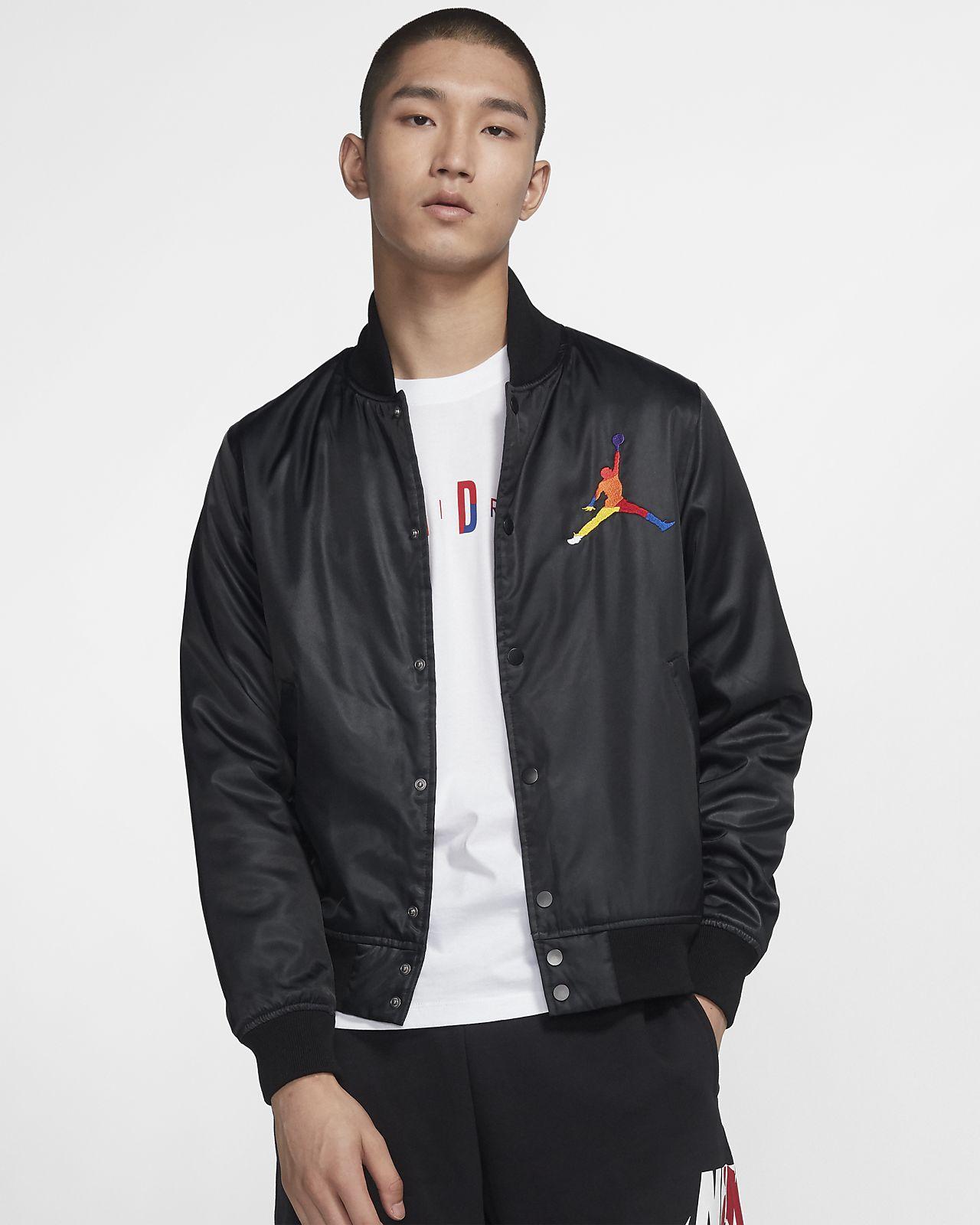 Jordan DNA 男子缎面夹克