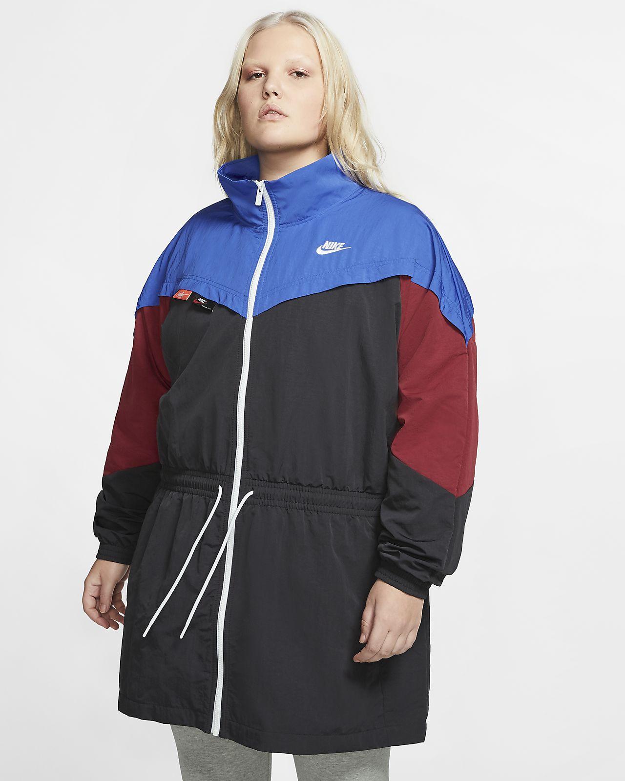 Nike Sportswear Women's Woven Track Jacket (Plus Size).