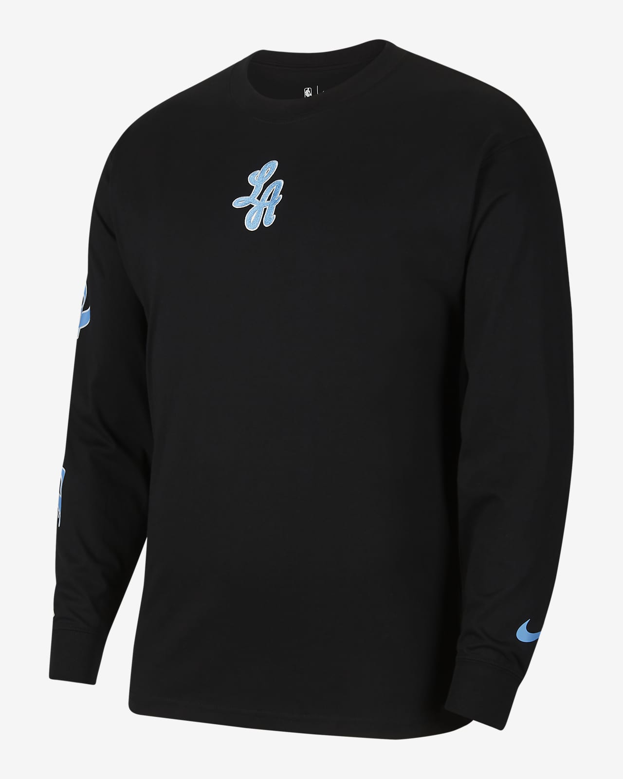 Los Angeles Lakers Courtside City Edition Men's Nike NBA T-Shirt
