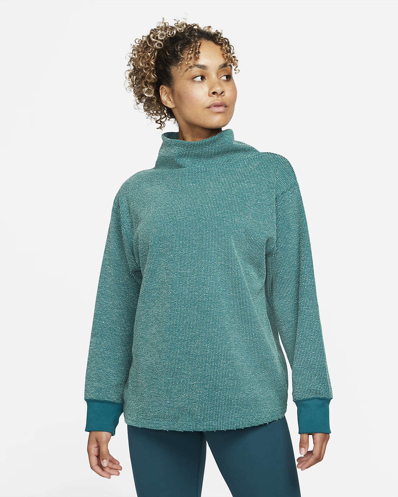 Nike Yoga Luxe Women's Textured Cover-Up