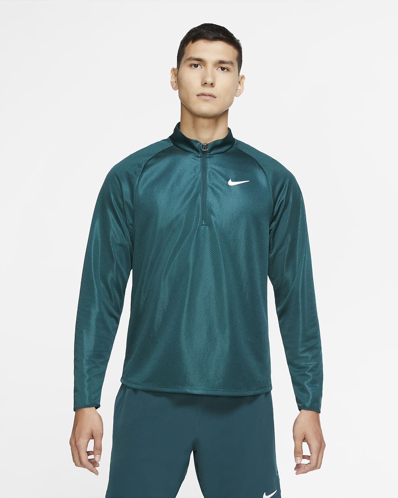 NikeCourt Challenger Men's Long-Sleeve 1/2-Zip Tennis Top