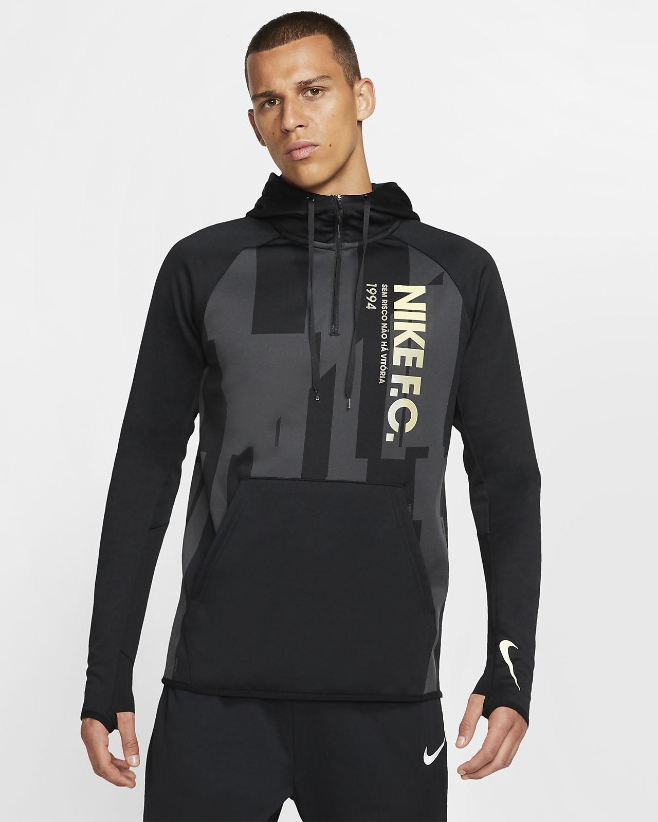 Sweat à capuche Nike F.C pour Homme. Nike