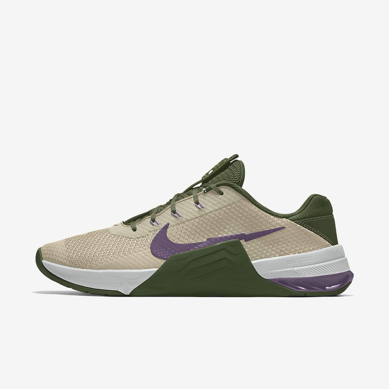 Calzado de entrenamiento para mujer personalizado Nike Metcon 7 By You Custom