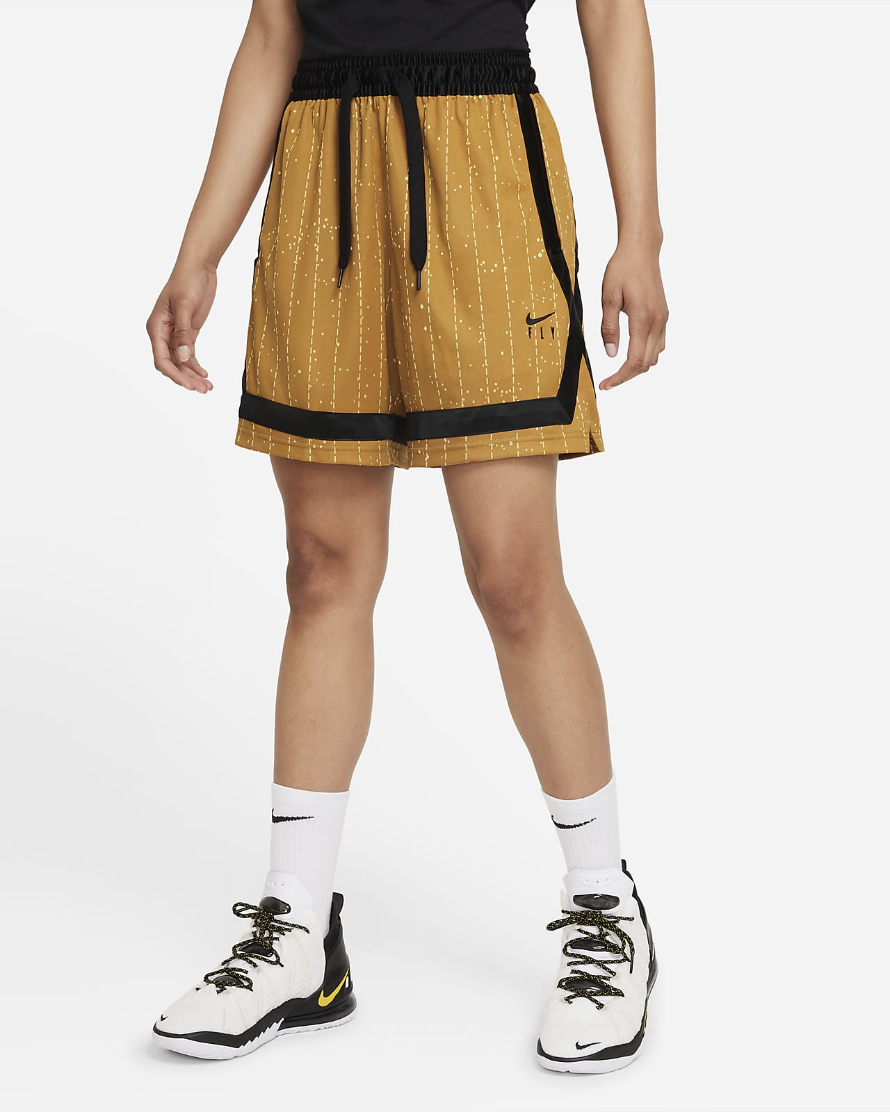 Nike Dri-FIT Swoosh Fly Crossover Women's Basketball Shorts