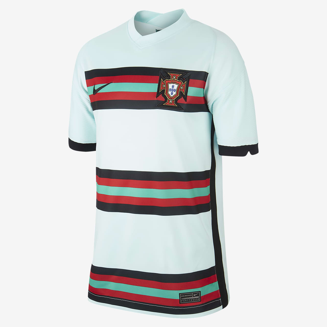 Camiseta de fútbol para niños talla grande Portugal 2020 Stadium Away