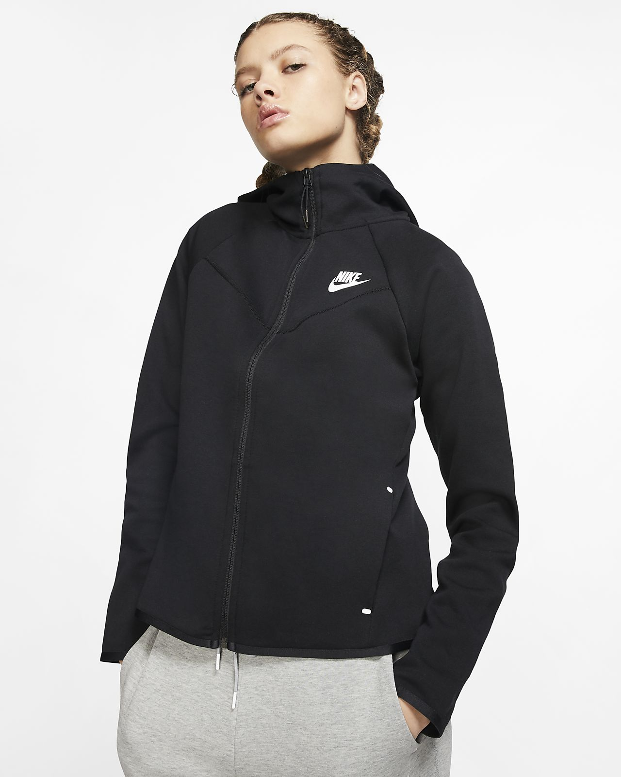 Nike Sportswear Windrunner Training Jacket Women White, Black