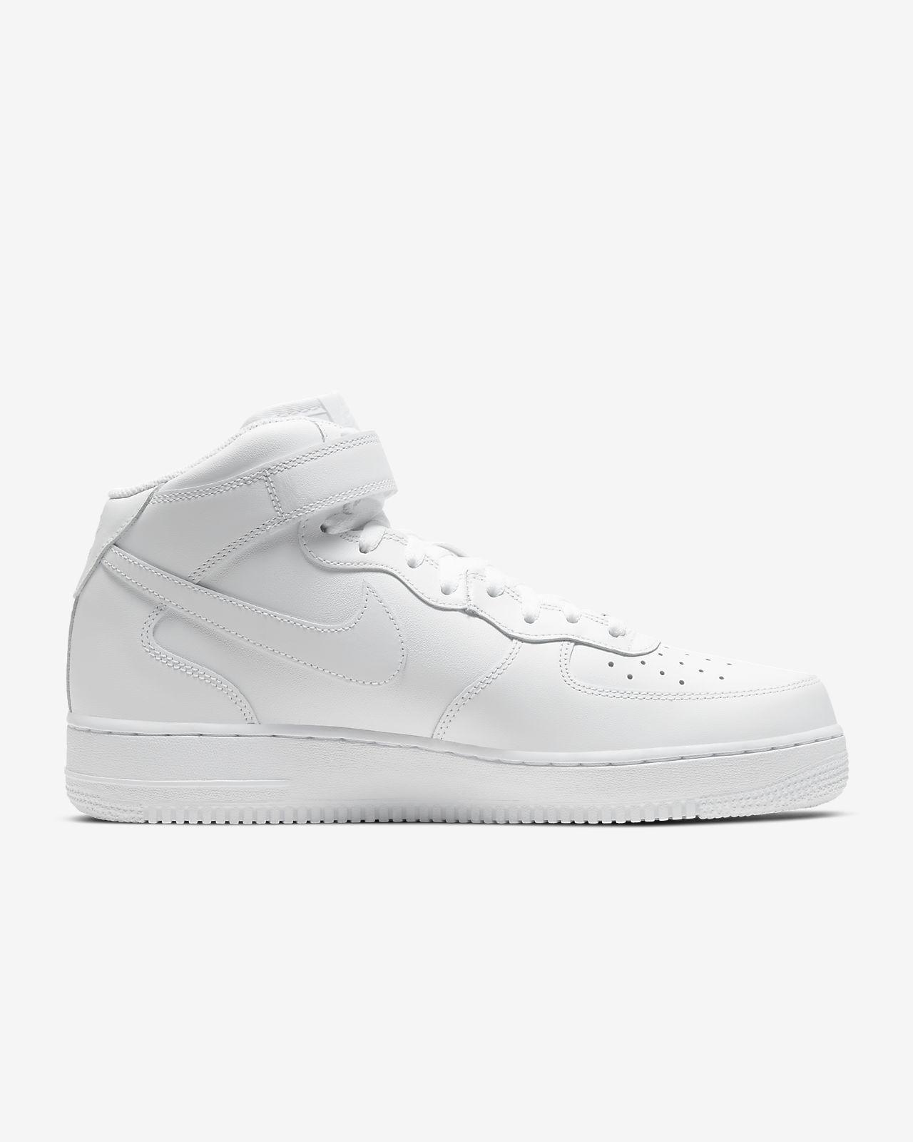 air force 1 mid 07 blancas