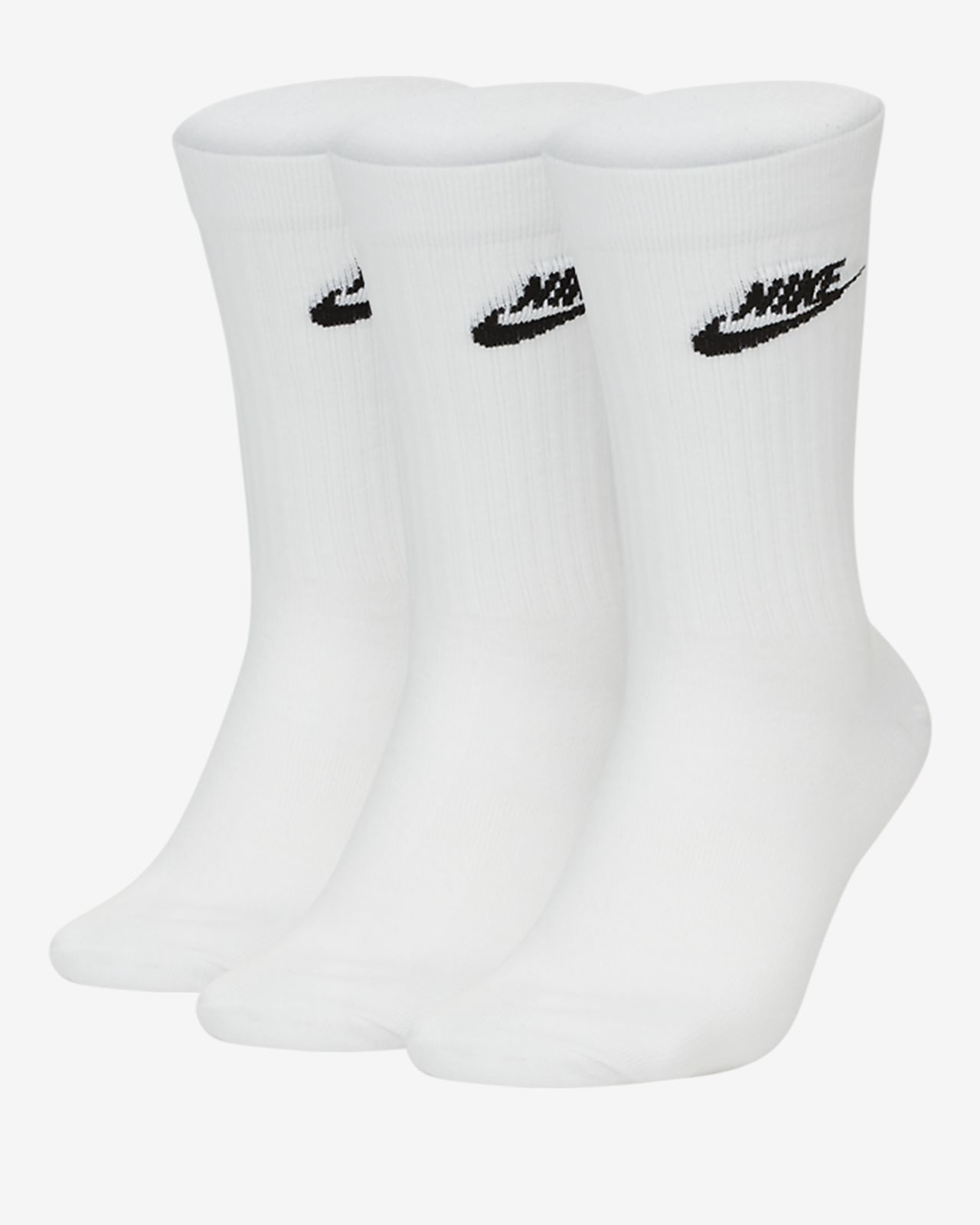 Nike Sportswear Everyday Essential Crew Socks (3 Pairs)