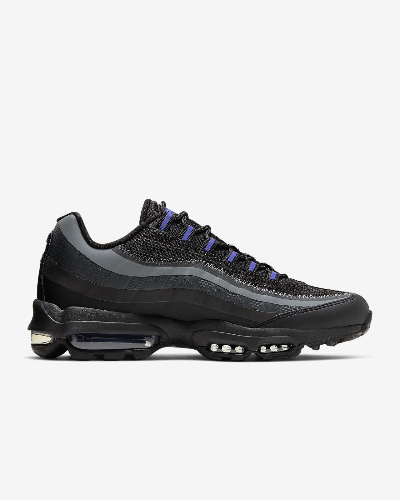 nike air max 95 black blue