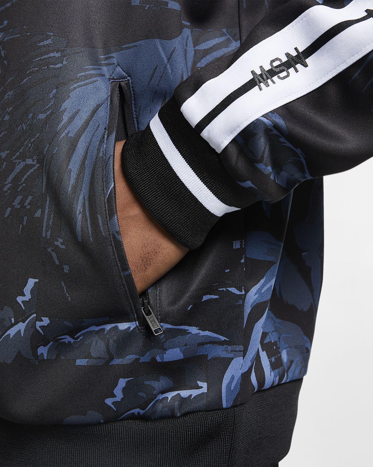 Nyári Olcsó Nike Fundamentals férfi kapucnis cipzáras pamut