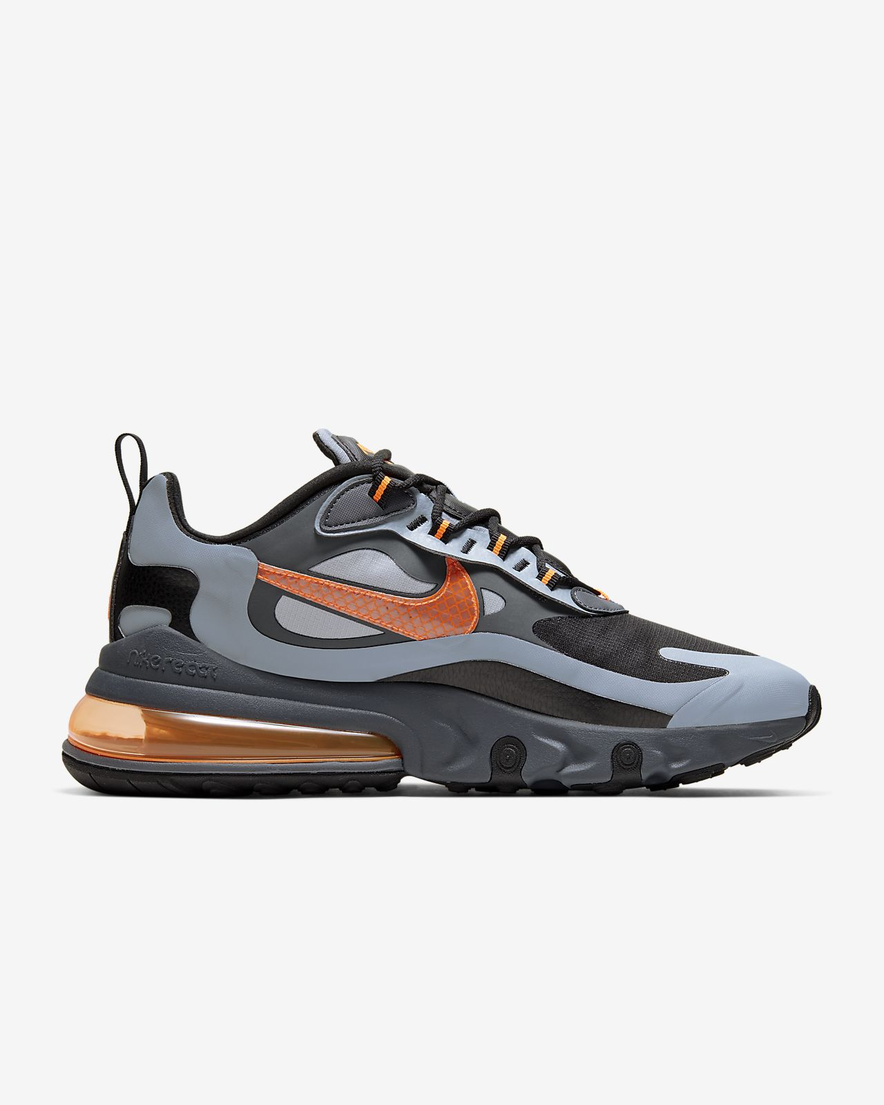 nike air max 270 react trainer wolf grey