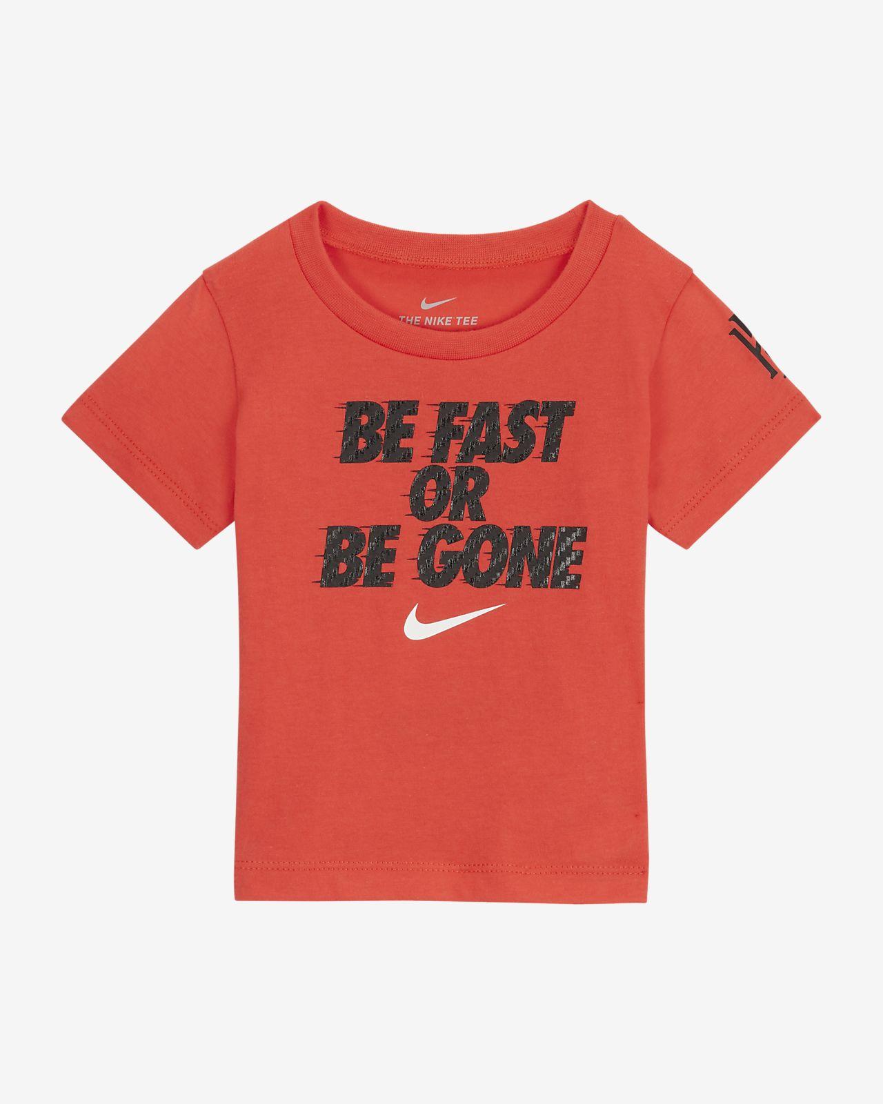 T-shirt Nike para bebé (12–24 meses)