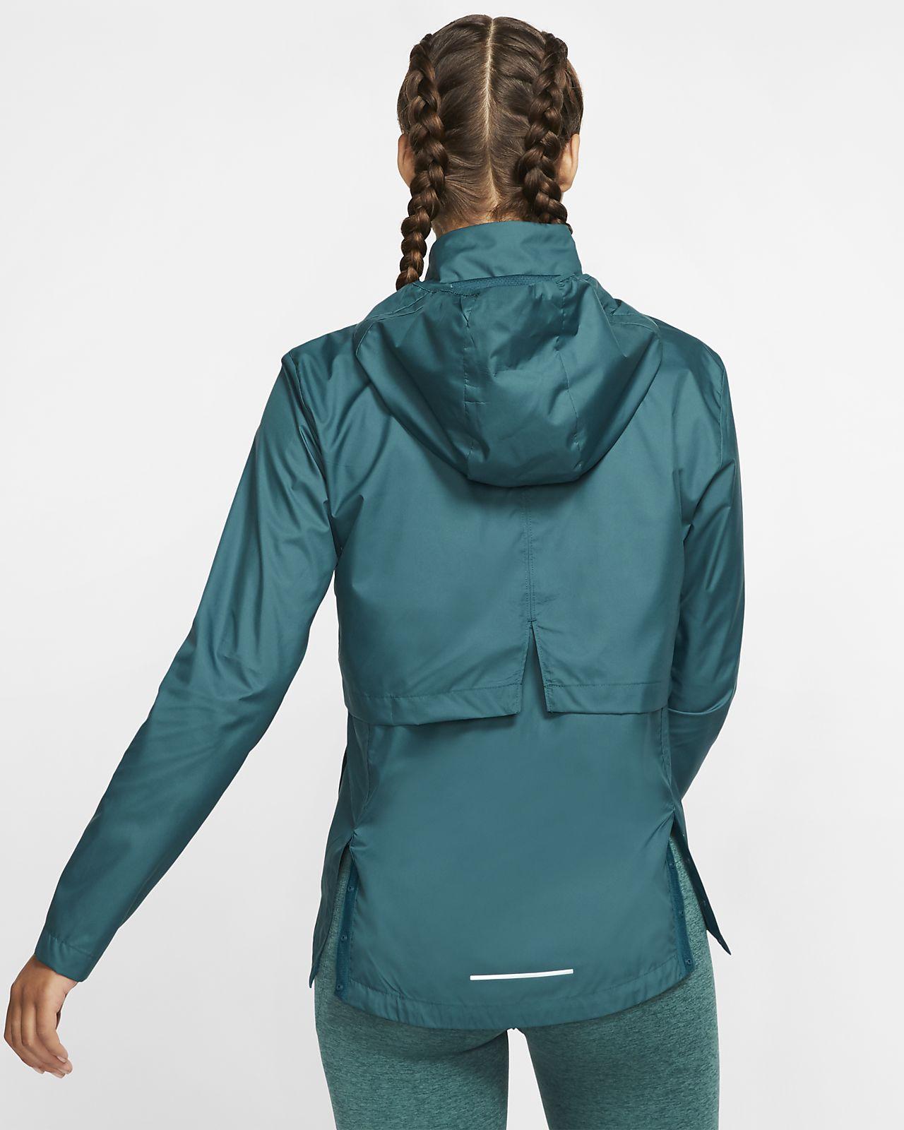 packable running rain jacket