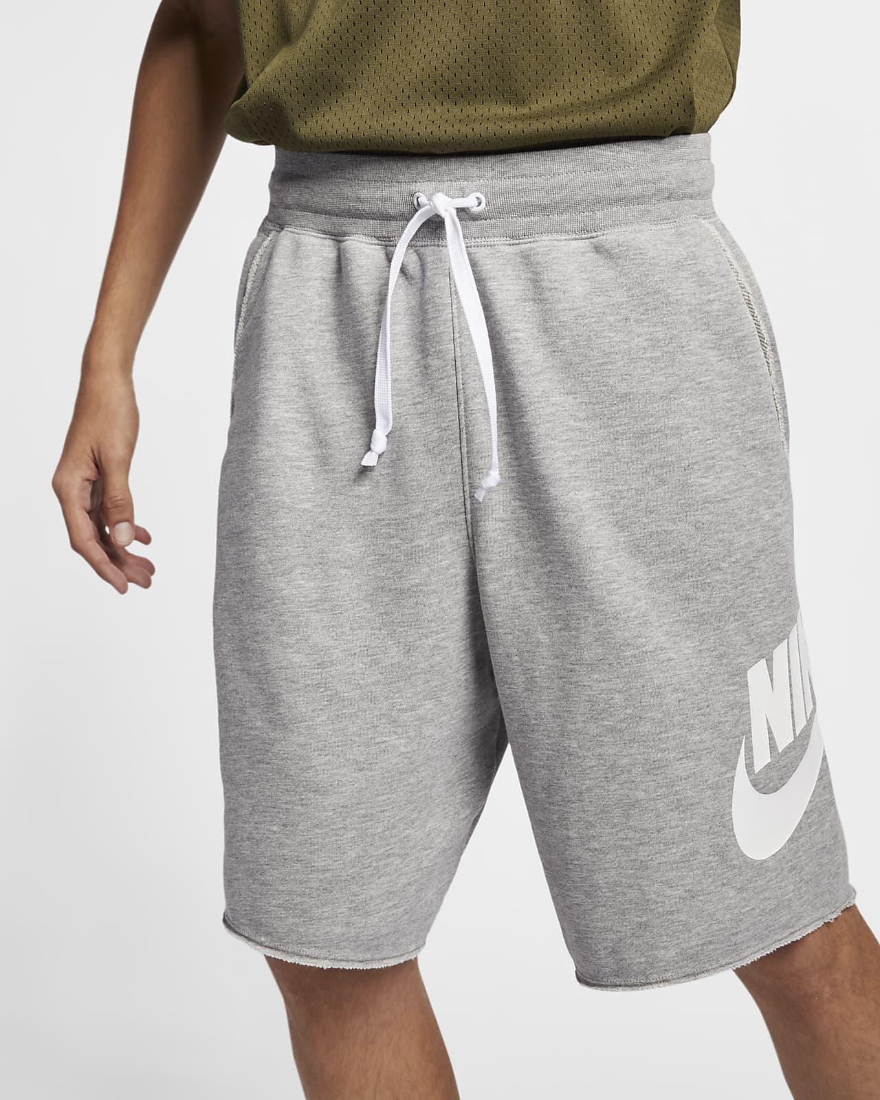 Shorts in French Terry Nike Sportswear Alumni - Uomo