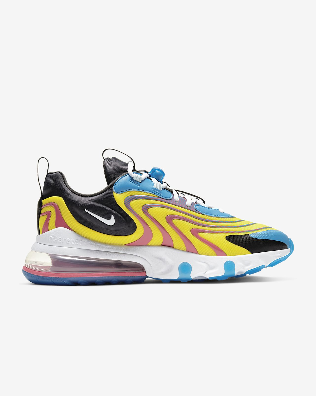 Nike Air Max 270 React ENG M BlackObsidianSapphire