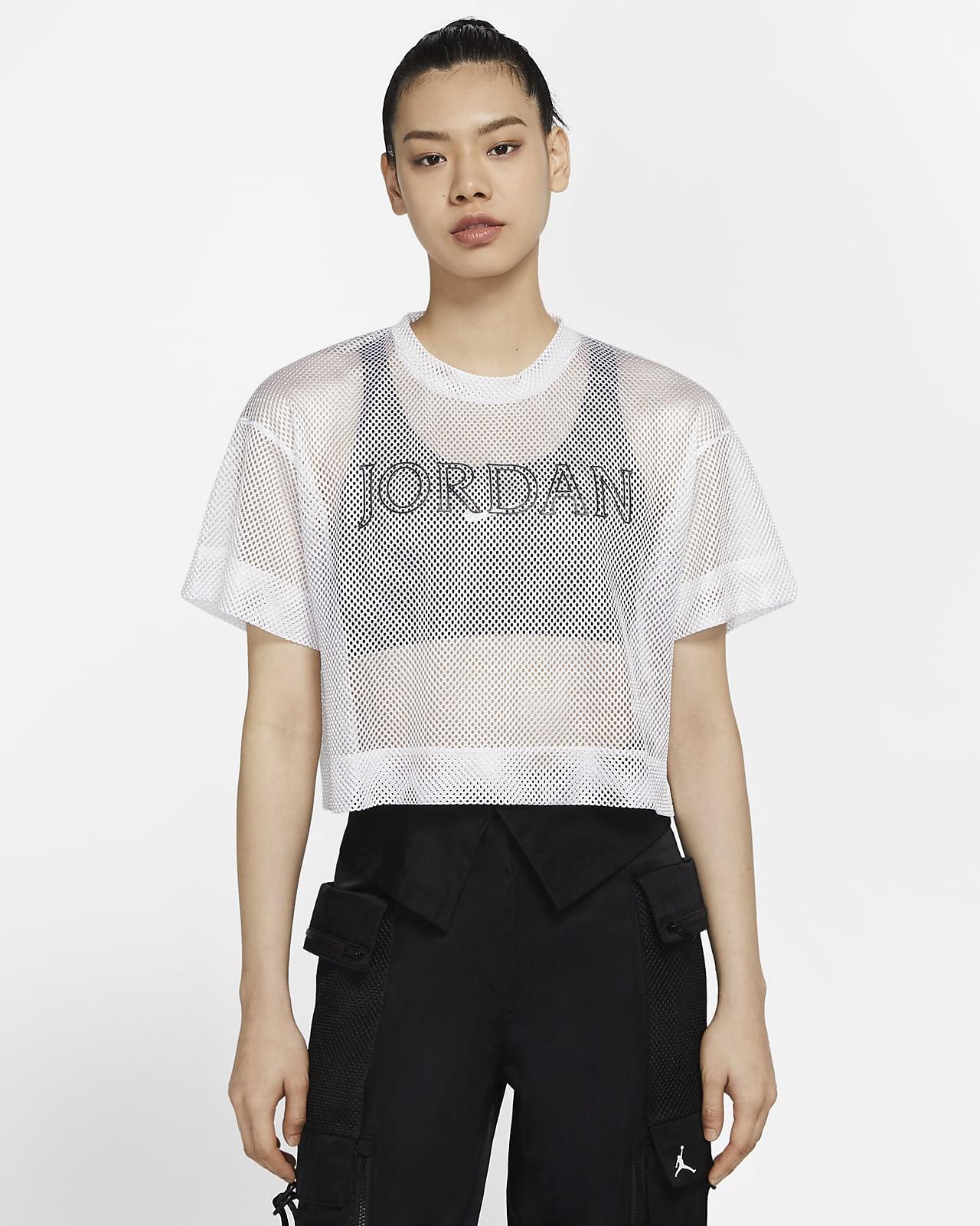 Jordan Utility 女子短袖网眼布上衣