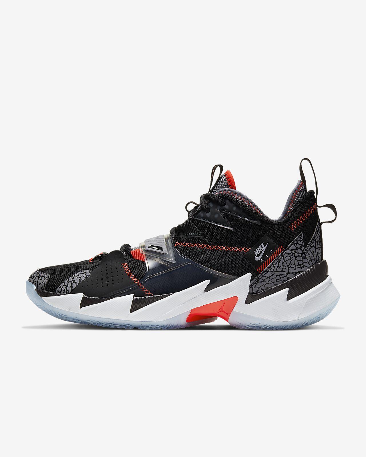 Jordan 'Why Not?' Zer0.3 Basketball Shoe