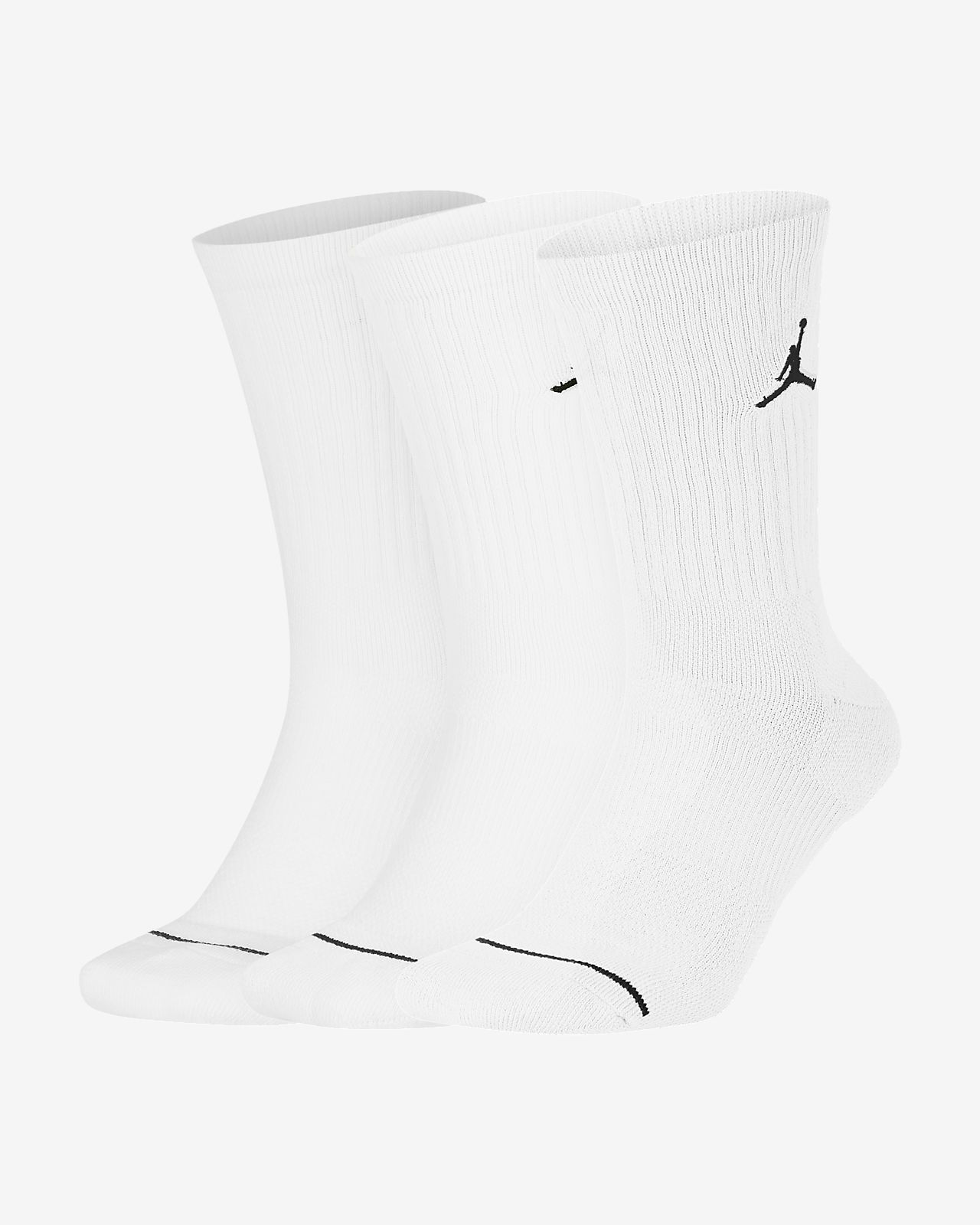 Jordan Everyday Max Unisex Crew Socks (3 Pack)