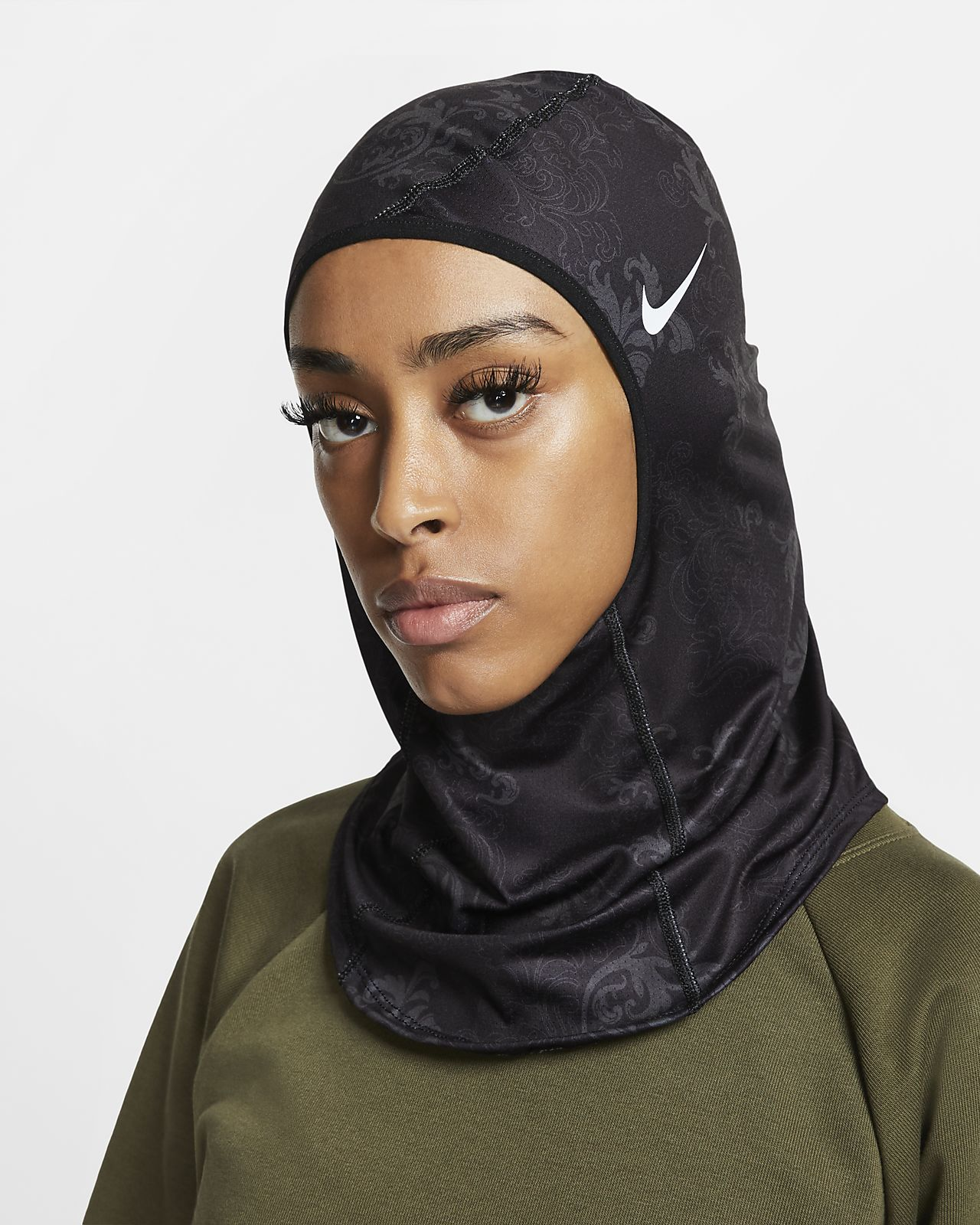 Nike Pro Hijab mit Print