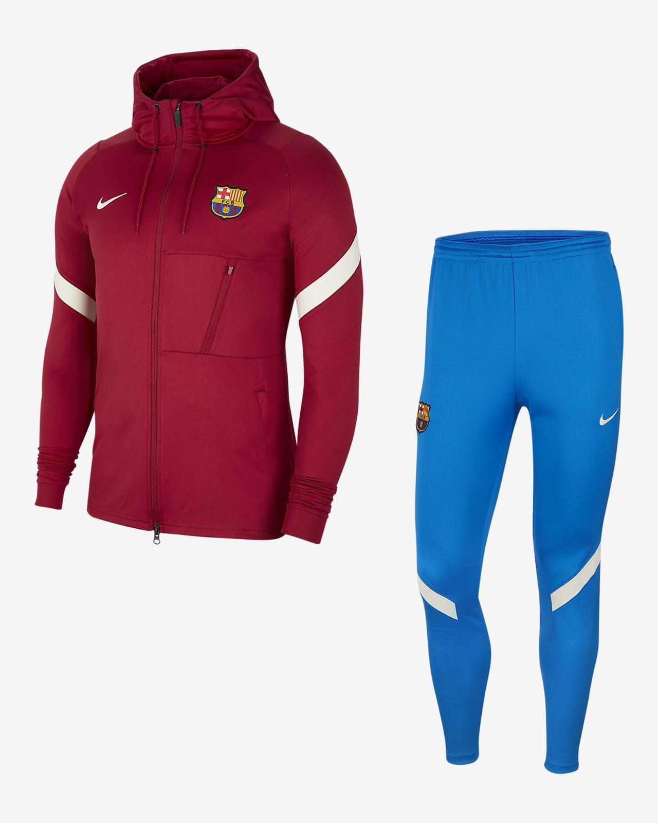 Survêtement de football Nike Dri-FIT FC Barcelona Strike pour Homme