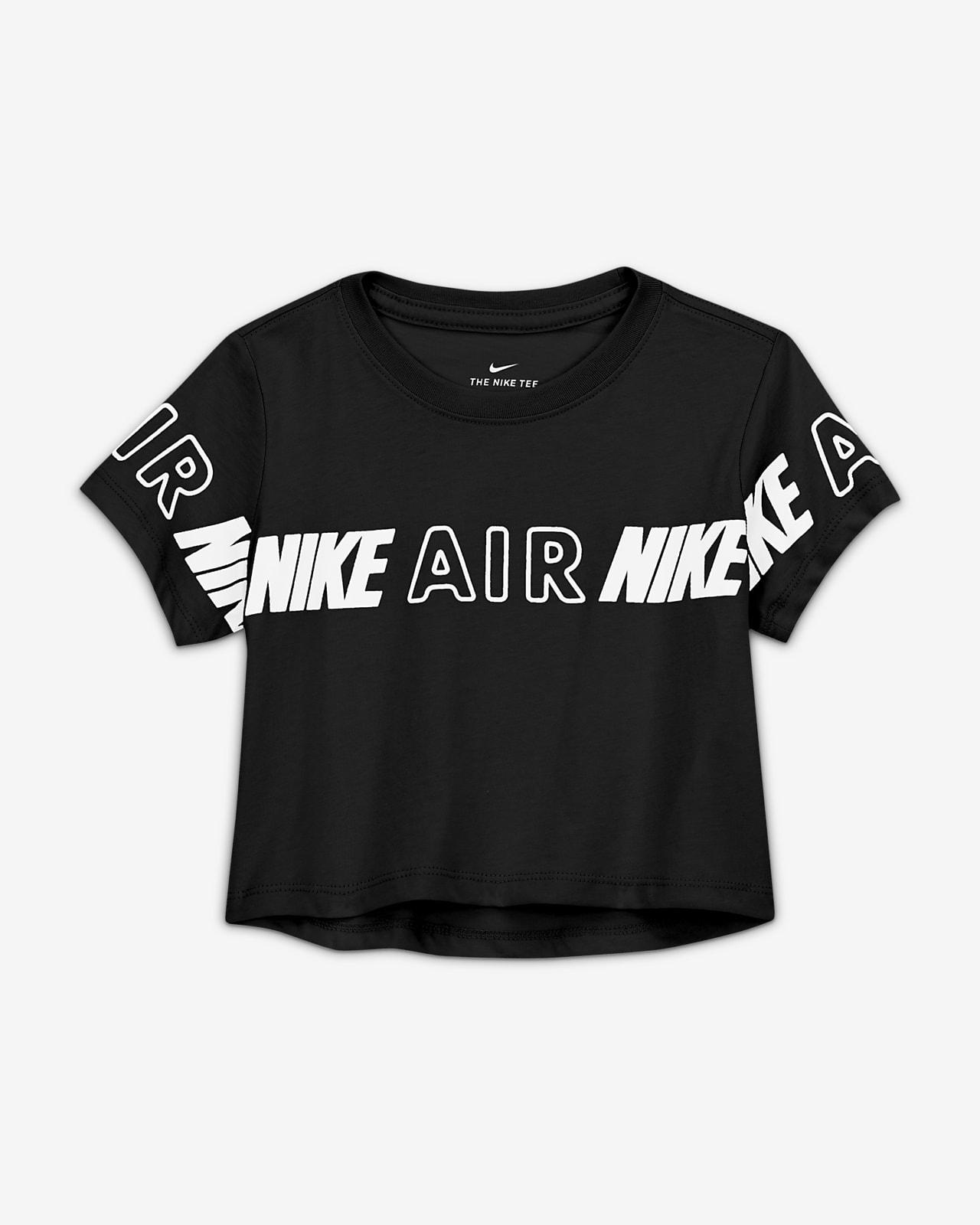 Nike Air Big Kids' (Girls') Cropped T-Shirt