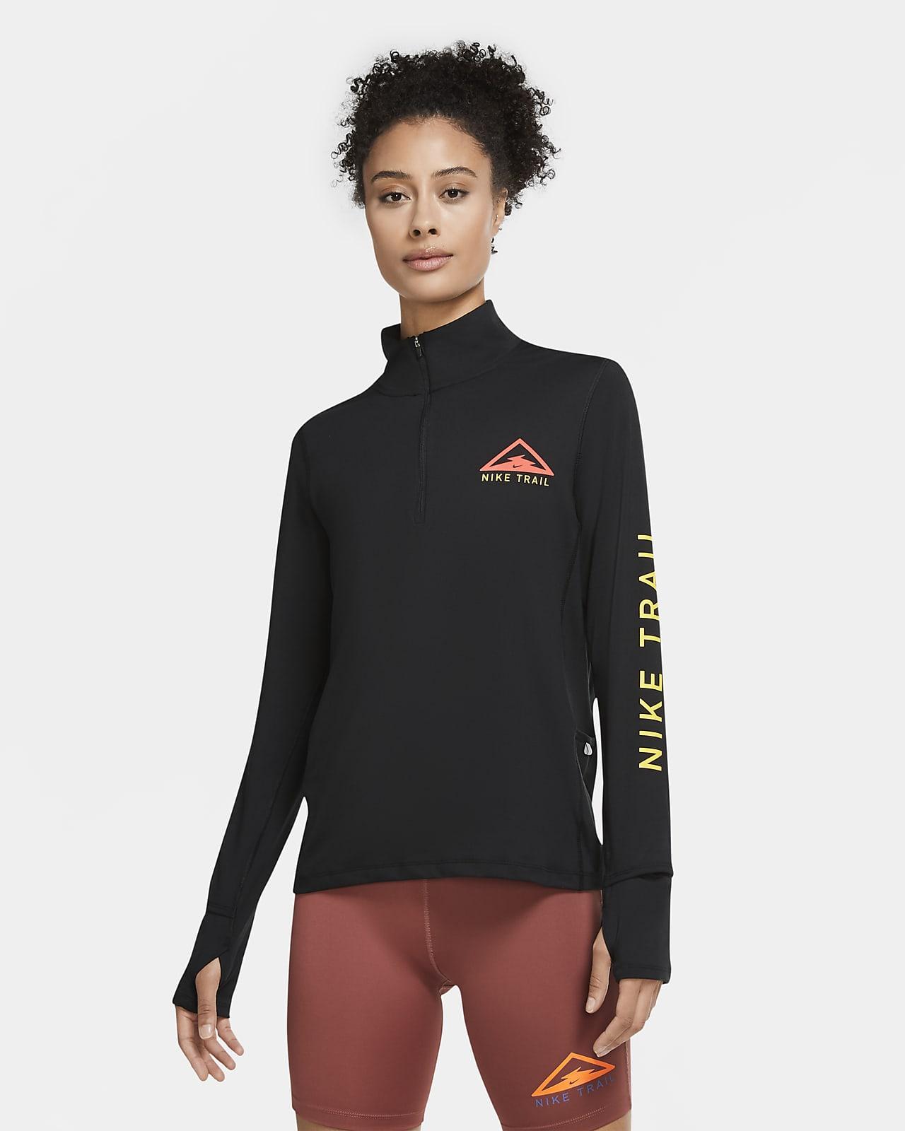 Nike Women's 1/2-Zip Trail Running Top