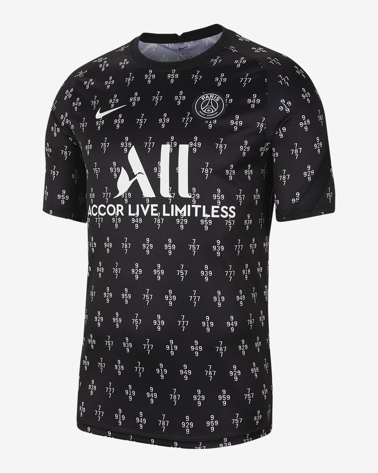 Paris Saint-Germain Away Men's Nike Dri-FIT Pre-Match Soccer Top