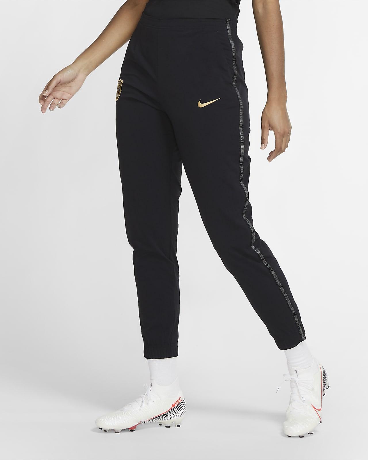 Pantalones de fútbol de tejido Woven para mujer FC Barcelona
