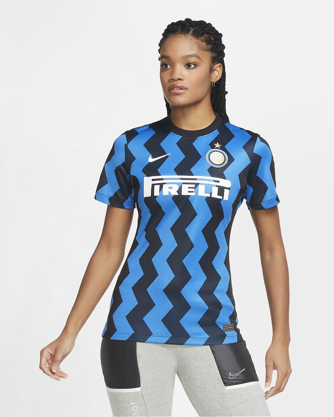 Inter Milan 2020/21 Stadium (hjemmedrakt) fotballdrakt til dame