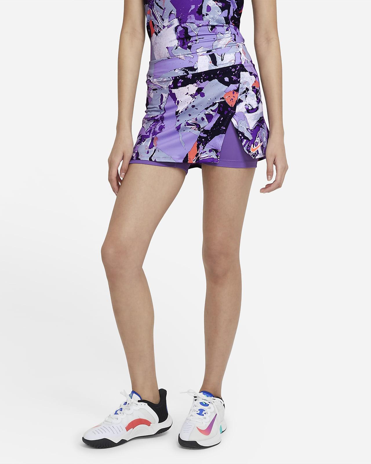 Jupe de tennis imprimée NikeCourt Victory pour Femme