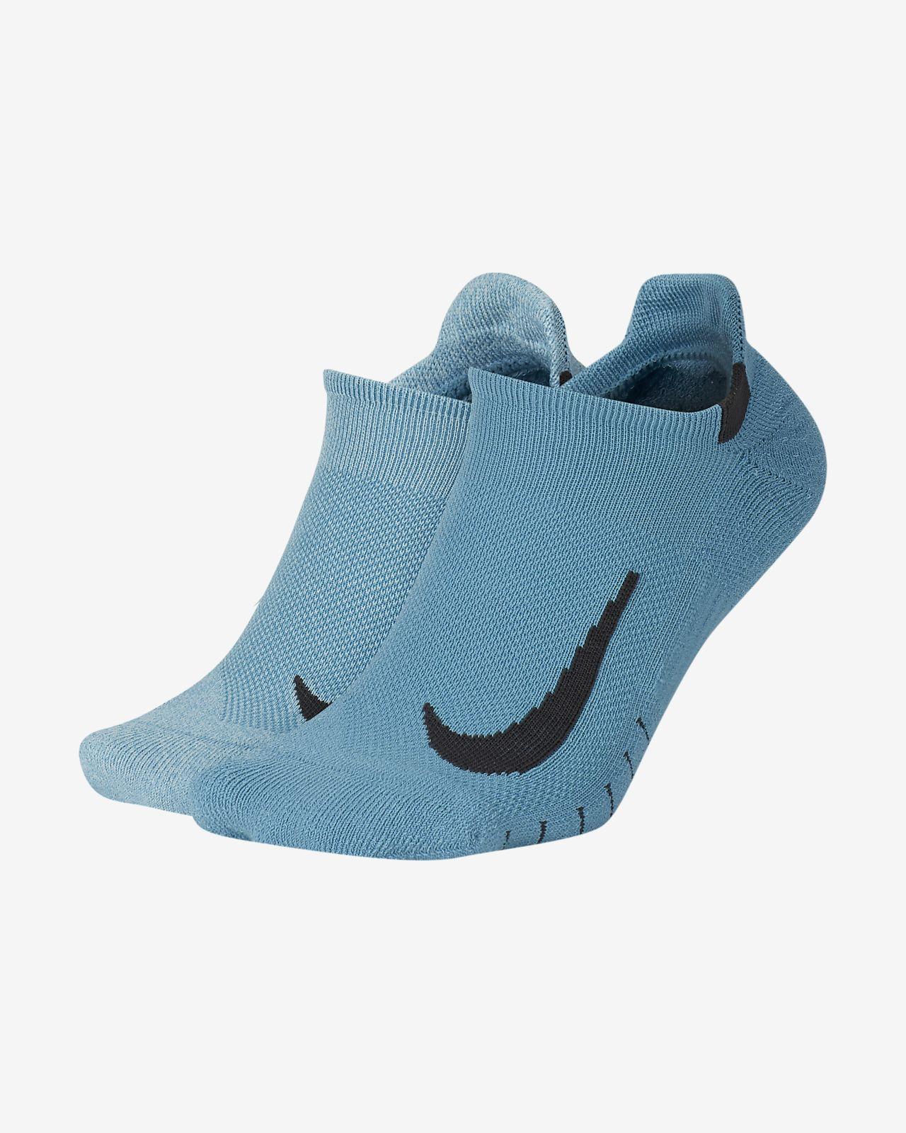 Nike Multiplier No-Show 运动袜(2 双)