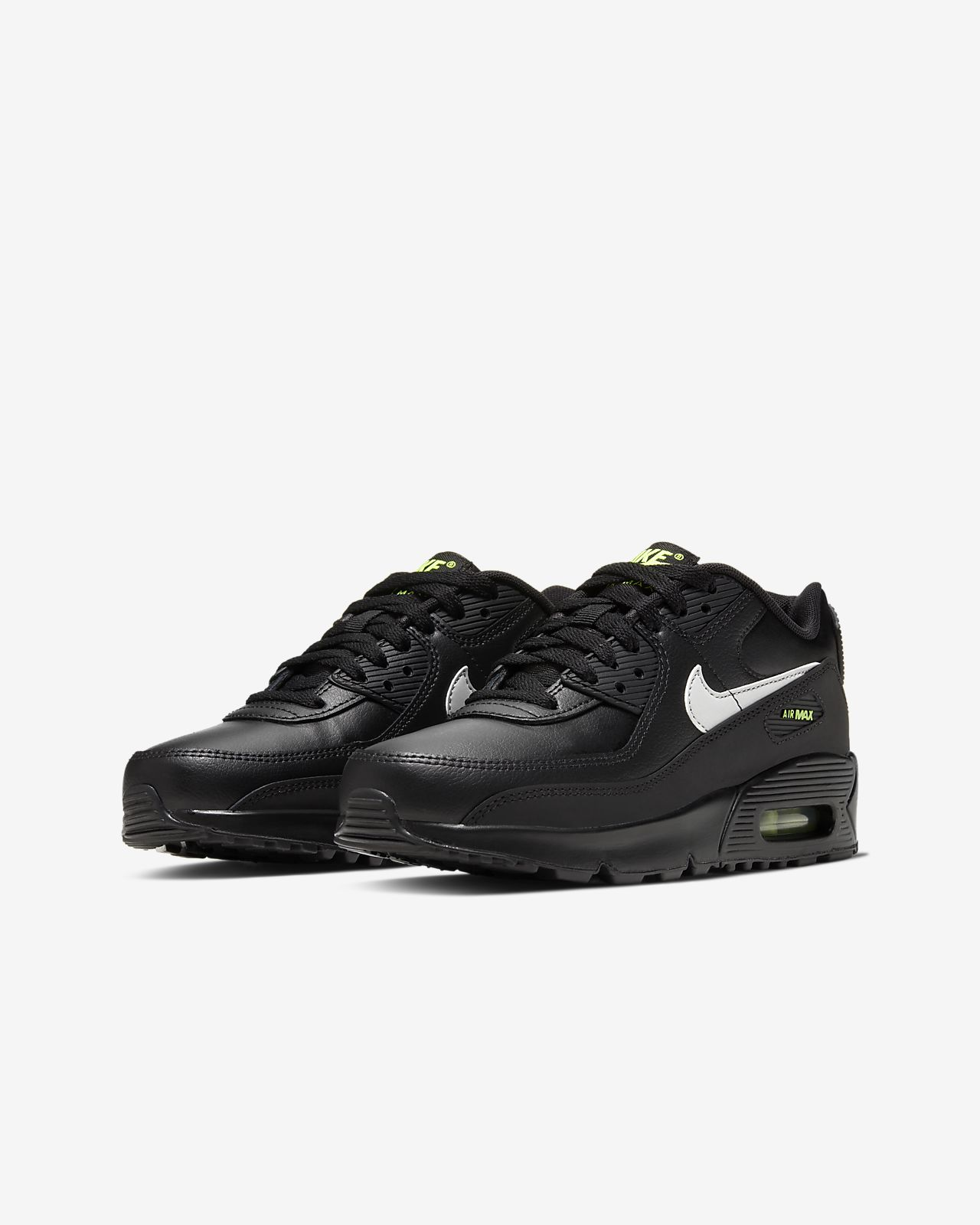 Nike Air Max 95 Kids Running Trainer Shoes Black