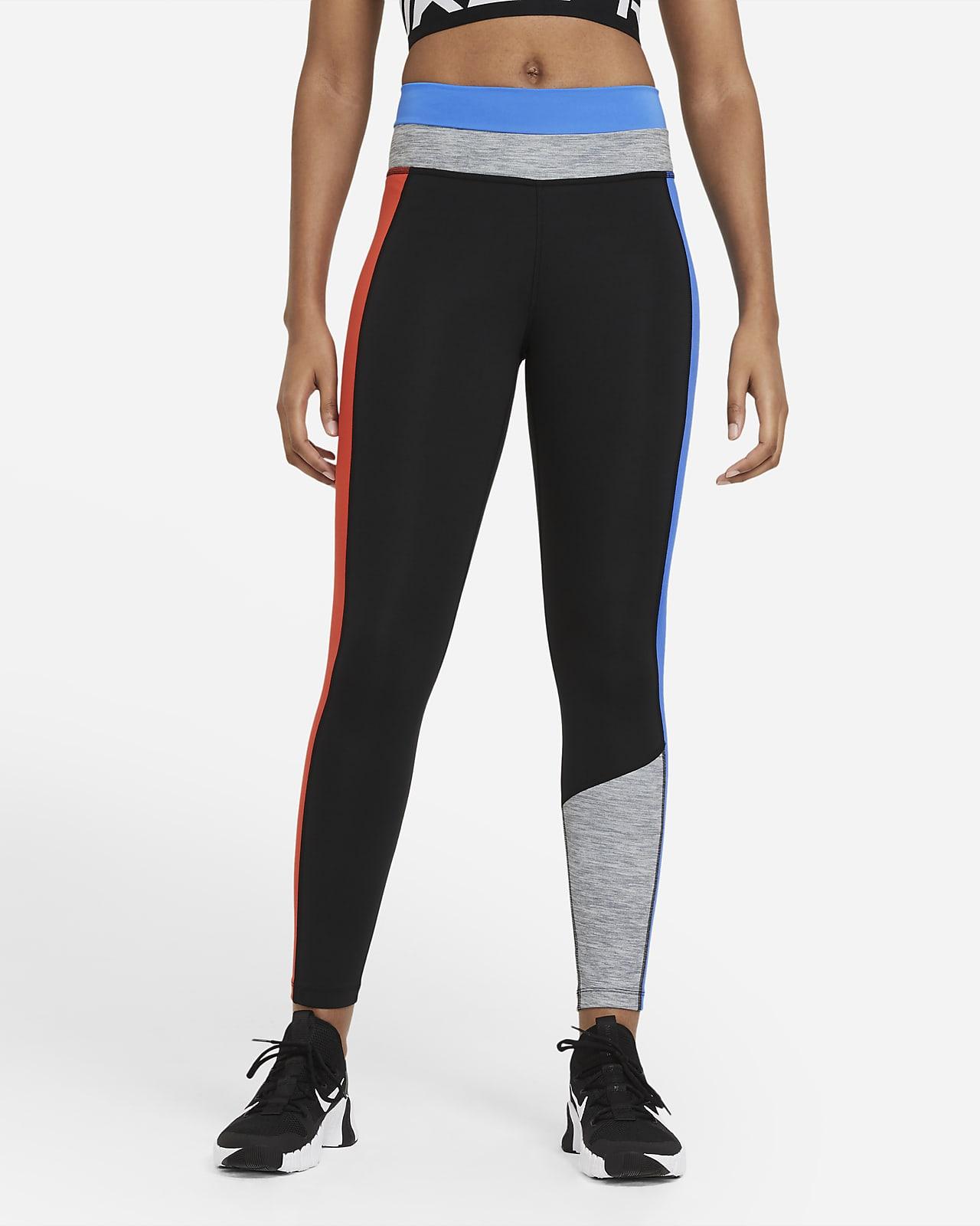 Leggings de 7/8 de bloques de color para mujer Nike One