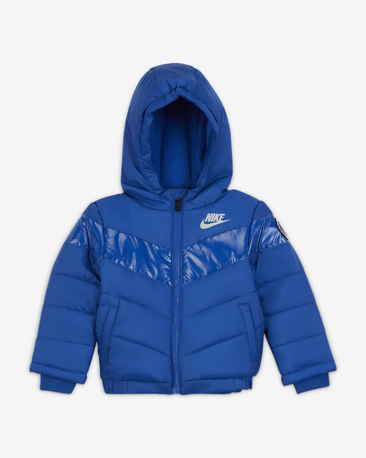 Nike Baby (12-24M) Color-Block Puffer Jacket