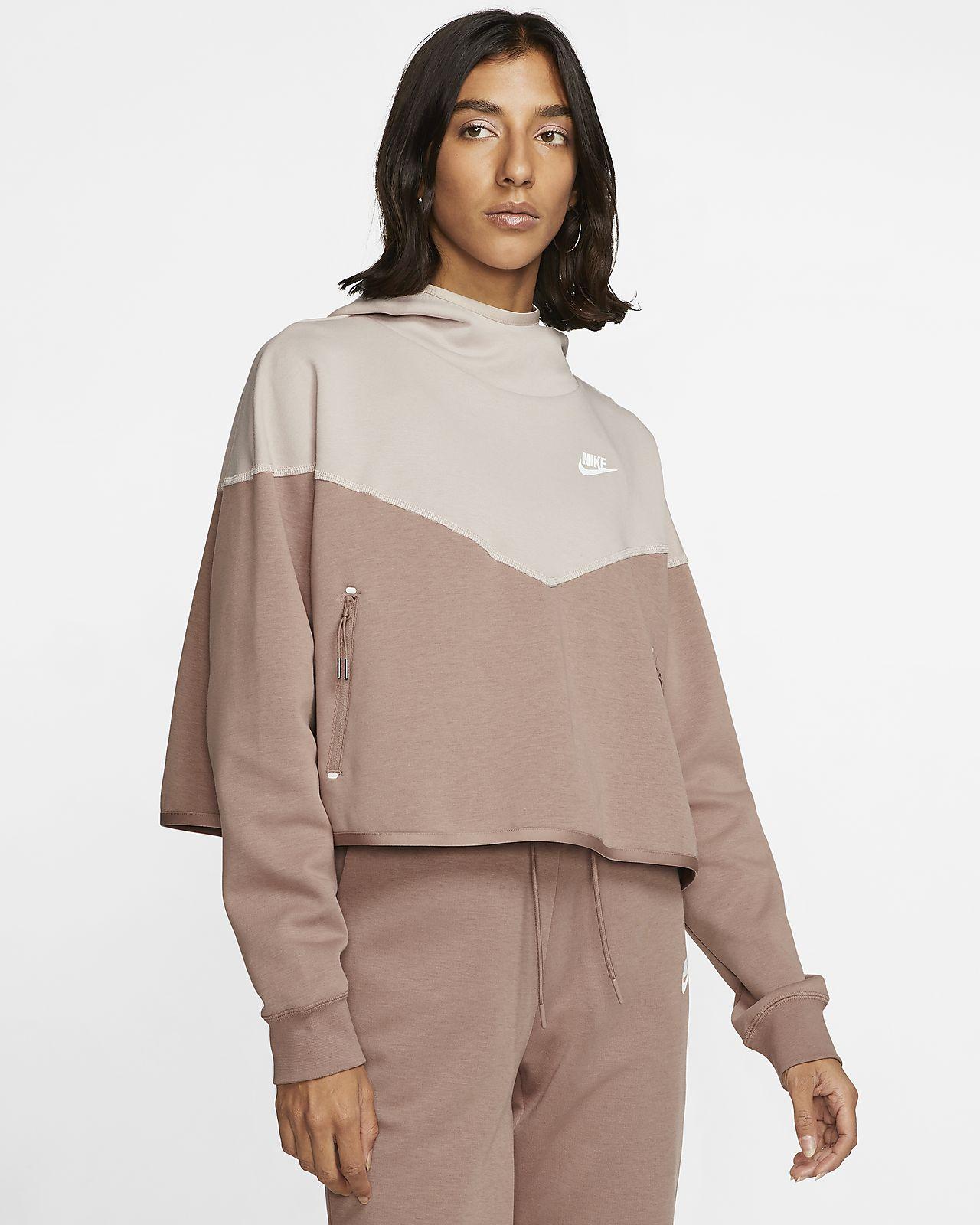 nike fleece zip up womens
