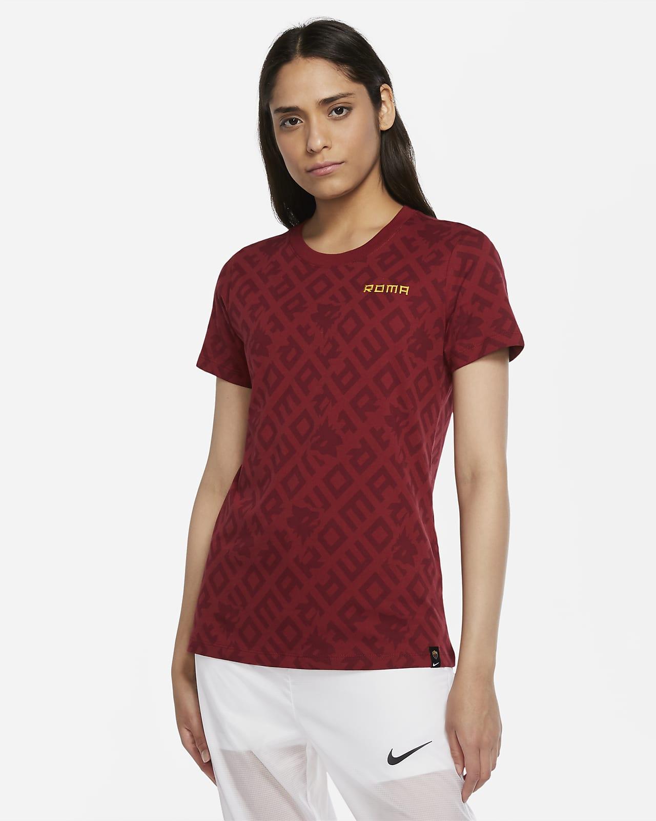 AS Roma fotball-T-skjorte til dame