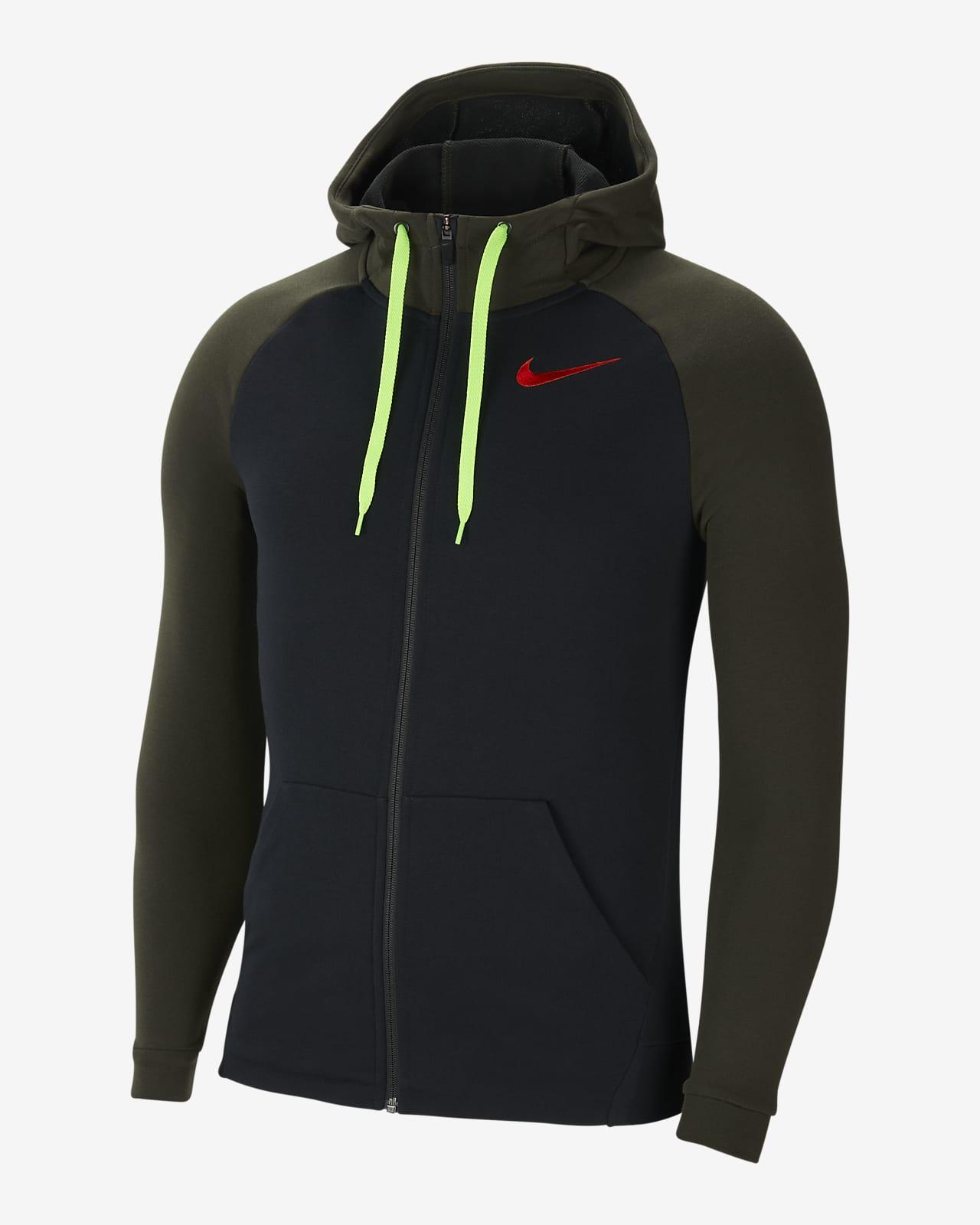 Nike Dri-FIT Men's Full-Zip Fleece Training Hoodie