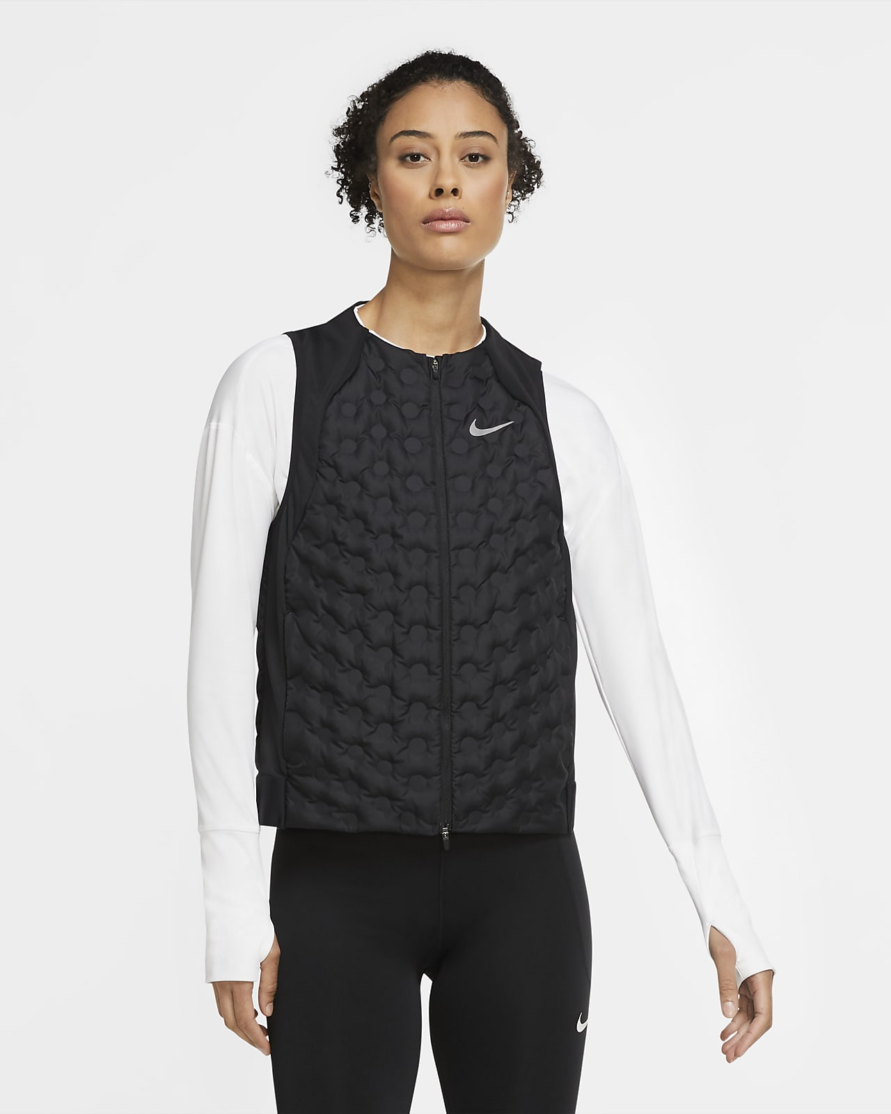 Veste de running sans manches Nike Aeroloft pour Femme