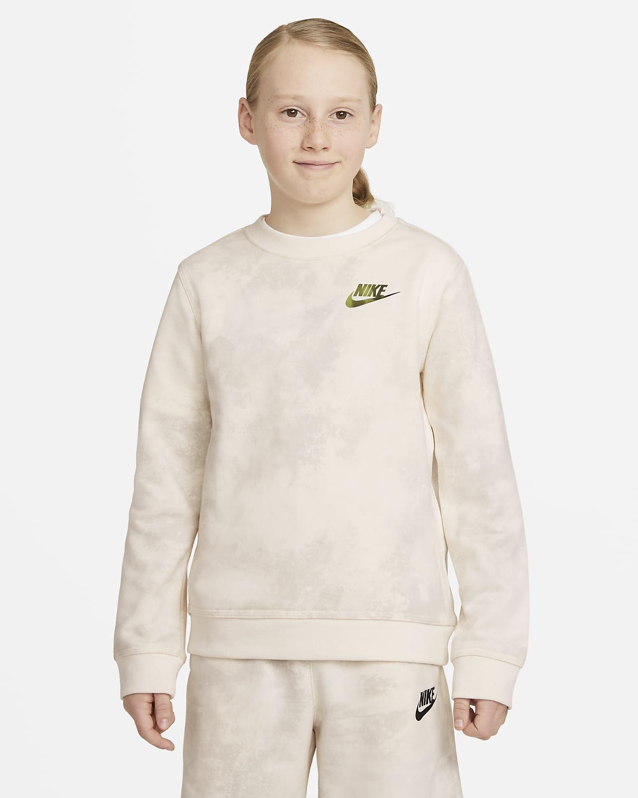Sudadera Tie-Dye para niño talla grande Nike Sportswear Magic Club