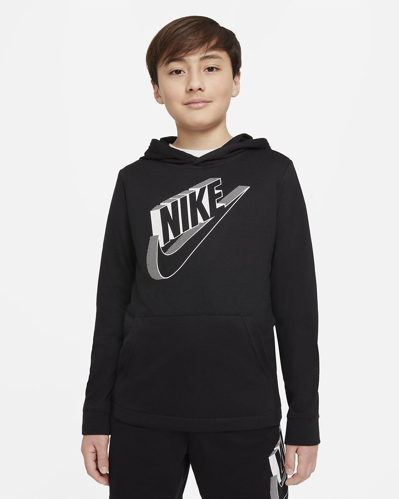 Sudadera con gorro para niño talla grande Nike Sportswear
