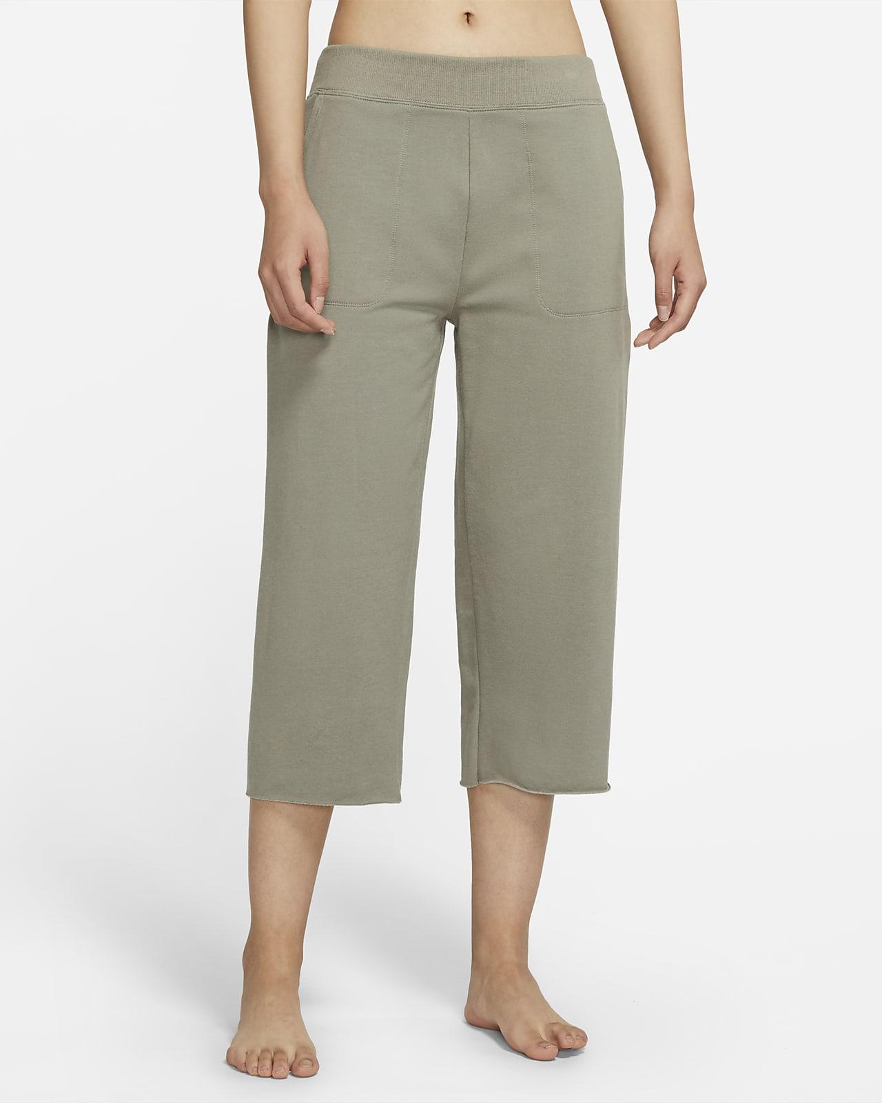 Nike Yoga Luxe 女子起绒中长裤