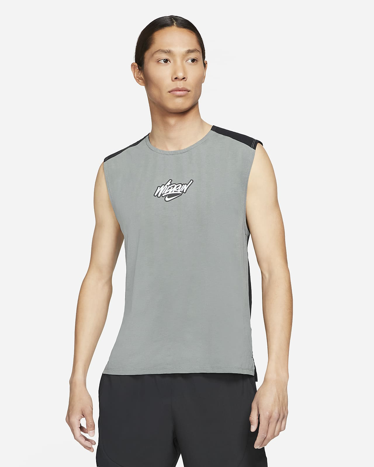 เสื้อกล้ามวิ่งผู้ชาย Nike Rise 365 Wild Run