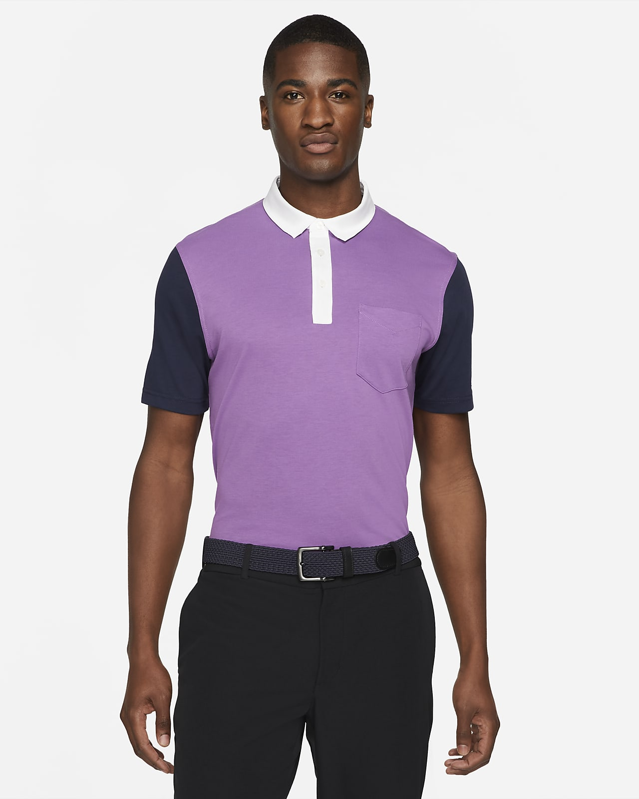 Nike Dri-FIT Player Men's Color-Blocked Golf Polo