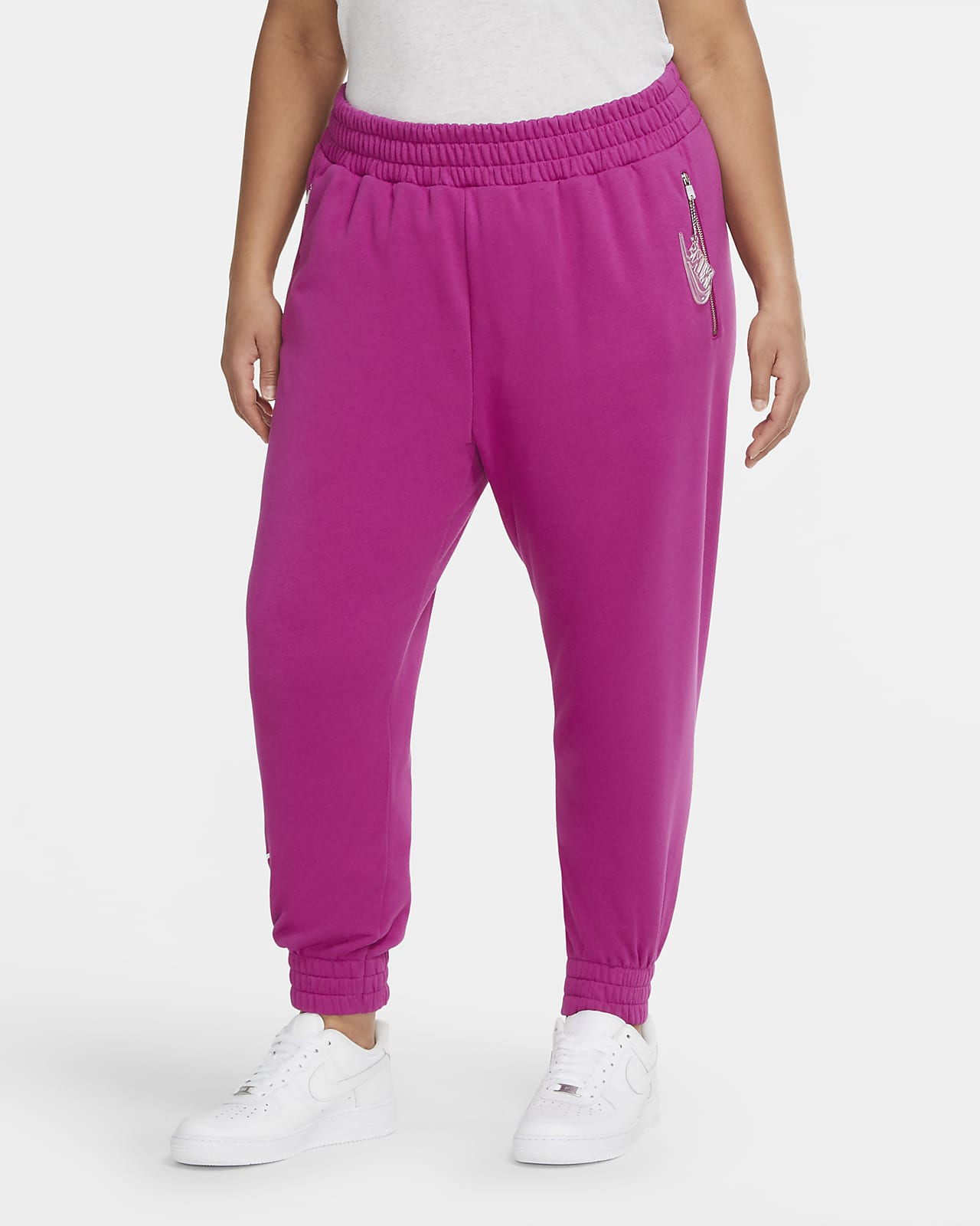 Nike Air Pantalons de 7/8 de teixit Fleece (talles grans) - Dona