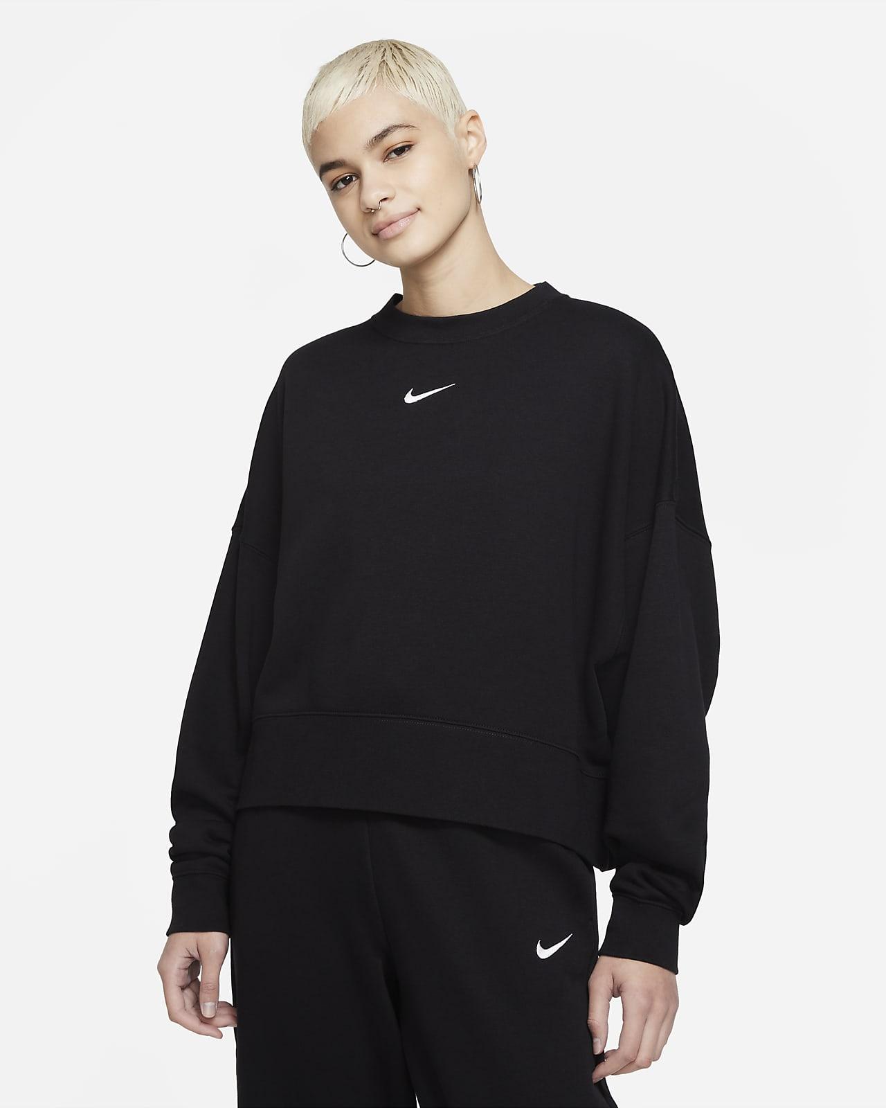 Женская флисовая толстовка оверсайз Nike Sportswear Collection Essentials