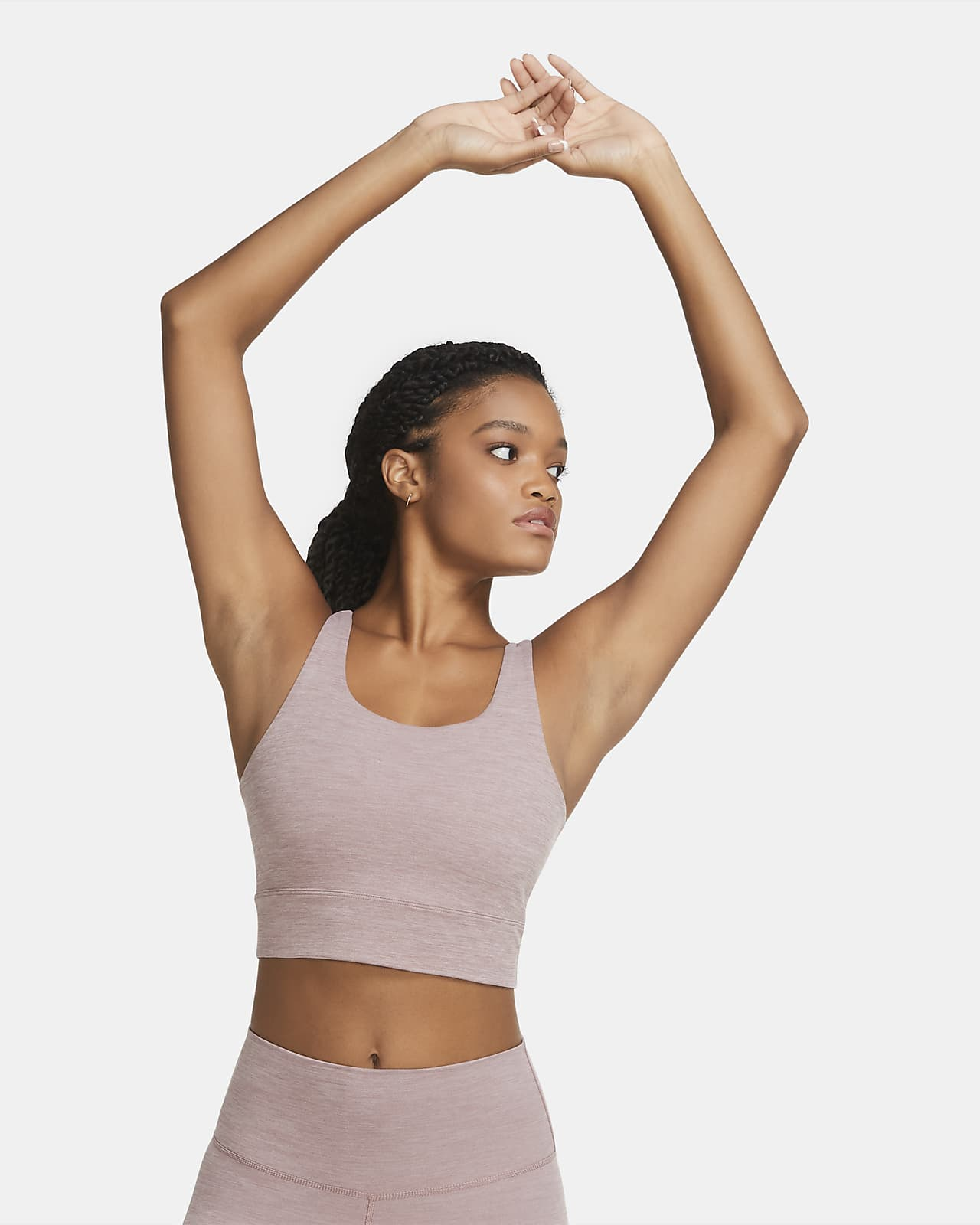 Nike Yoga Luxe kort Infinalon-overdel til dame