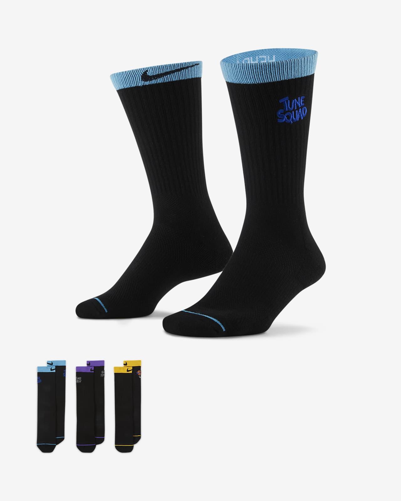 Nike x Space Jam: A New Legacy Basketball Crew Socks (3 Pairs)