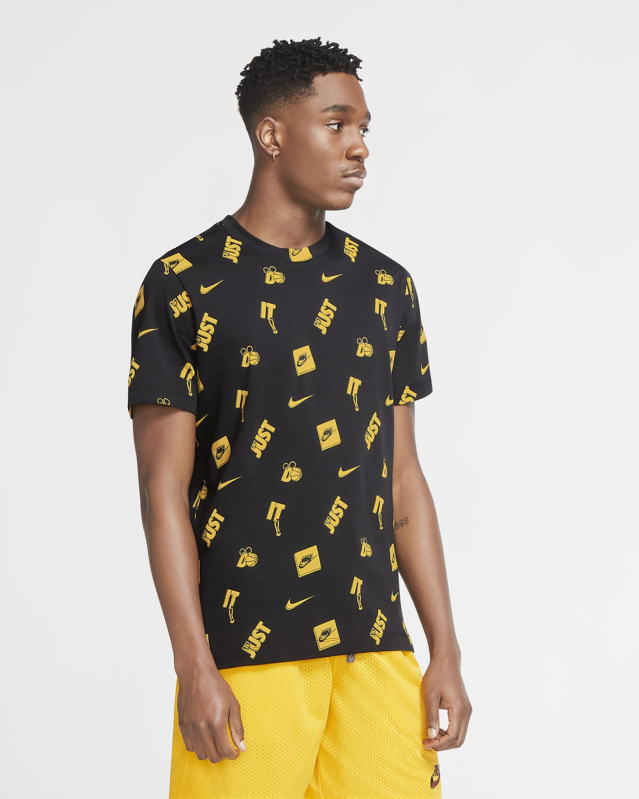 Tee-shirt de basketball Nike Medallion pour Homme